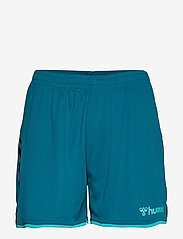Hummel - hmlAUTHENTIC POLY SHORTS WOMAN - treenishortsit - celestial - 0