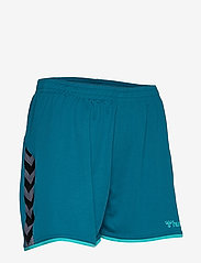 Hummel - hmlAUTHENTIC POLY SHORTS WOMAN - treenishortsit - celestial - 3