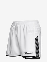 Hummel - hmlAUTHENTIC POLY SHORTS WOMAN - træningsshorts - white - 2
