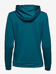 Hummel - hmlAUTHENTIC POLY ZIP HOODIE WOMAN - hupparit - celestial - 1
