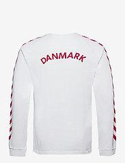 Hummel - DBU FAN 2020 COT. TEE L/S - football shirts - white - 1