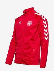 Hummel - DBU FAN 2020 ZIP JACKET - sweaters - tango red - 2
