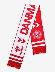 Hummel - DBU FAN 2020 HEAVY SCARF - accessories - tango red/white - 2