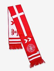 Hummel - DBU FAN 2020 HEAVY SCARF - accessories - tango red/white - 3