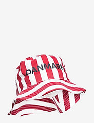 Hummel - DBU FAN 2020 BUCKET HAT - bucket hats - tango red/white - 0