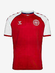 Hummel - DBU 20/21 HOME JERSEY S/S - football shirts - tango red - 0