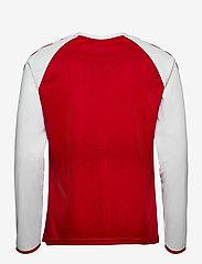 Hummel - DBU 20/21 HOME JERSEY L/S - football shirts - tango red - 1