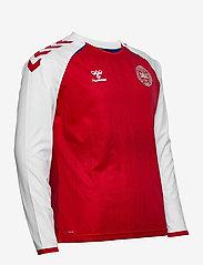 Hummel - DBU 20/21 HOME JERSEY L/S - football shirts - tango red - 2