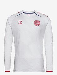 Hummel - DBU 20/21 AWAY JERSEY L/S - football shirts - white - 0