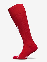 Hummel - DBU 20/21 FOOTBALL SOCK - jalkapallosukat - tango red - 0