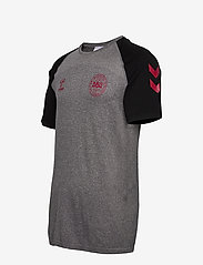 Hummel - DBU PLAYER PRO SEAMLESS JERSEY S/S - football shirts - dark grey melange - 2