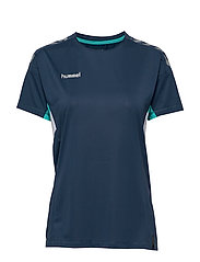 TECH MOVE JERSEY WOMAN S/S - SARGASSO SEA