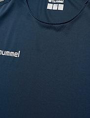 Hummel - TECH MOVE JERSEY WOMAN S/S - football shirts - sargasso sea - 4