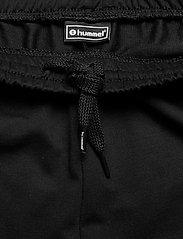 Hummel - HMLGO COTTON BERMUDA SHORTS - casual shorts - black - 3