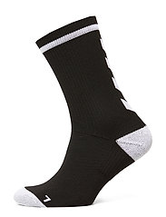ELITE INDOOR SOCK LOW - BLACK/WHITE