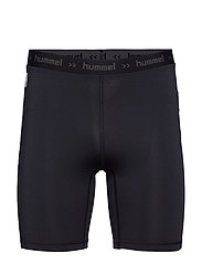 HML FIRST PERFORMANCE TIGHT SHORTS - BLACK