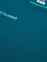 Hummel - hmlAUTHENTIC POLY JERSEY WOMAN S/S - t-shirts - celestial - 4