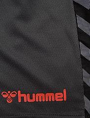 Hummel - hmlAUTHENTIC POLY SHORTS - treningsshorts - asphalt - 4
