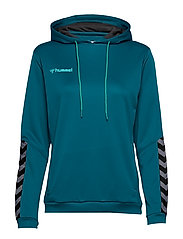 hmlAUTHENTIC POLY HOODIE WOMAN - CELESTIAL