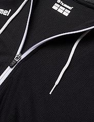 Hummel - hmlAUTHENTIC POLY ZIP HOODIE WOMAN - hoodies - black/white - 2
