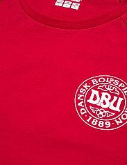 Hummel - DBU FAN 2020 COT. TEE L/S - football shirts - tango red - 4