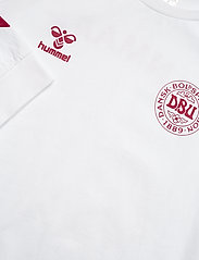 Hummel - DBU FAN 2020 COT. TEE L/S - football shirts - white - 2