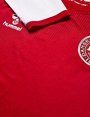 Hummel - DBU 20/21 HOME JERSEY L/S - football shirts - tango red - 4