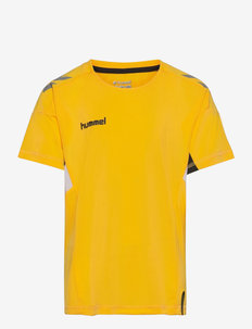 TECH MOVE KIDS JERSEY S/S - short-sleeved t-shirts - sports yellow