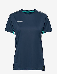 TECH MOVE JERSEY WOMAN S/S - voetbalshirts - sargasso sea