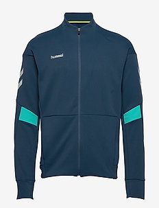 TECH MOVE POLY ZIP JACKET - sweaters - sargasso sea