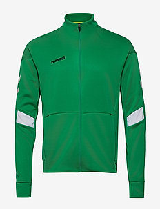 TECH MOVE POLY ZIP JACKET - sweaters - sports green