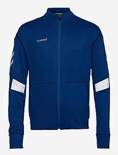 TECH MOVE POLY ZIP JACKET - sweaters - true blue
