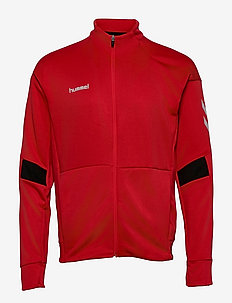 TECH MOVE POLY ZIP JACKET - sweaters - true red