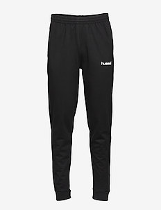 HMLGO COTTON PANT - joggingbroek - black