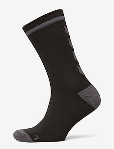 ELITE INDOOR SOCK LOW - fodboldsokker - black/asphalt