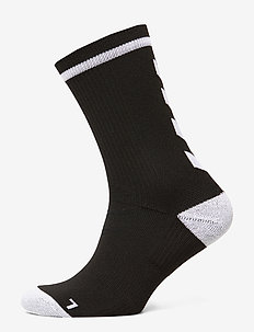 ELITE INDOOR SOCK LOW - jalkapallosukat - black/white