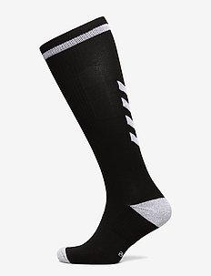 ELITE INDOOR SOCK HIGH - football socks - black/white