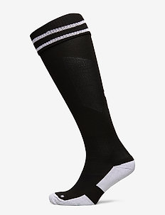 ELEMENT FOOTBALL SOCK - voetbalsokken - black/white