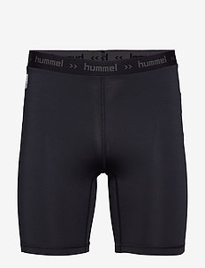 HML FIRST PERFORMANCE TIGHT SHORTS - training shorts - black