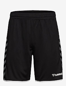 hmlAUTHENTIC POLY SHORTS - trainingsshorts - black/white