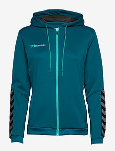 hmlAUTHENTIC POLY ZIP HOODIE WOMAN - hettegensere - celestial