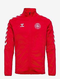 DBU FAN 2020 ZIP JACKET - basic sweatshirts - tango red