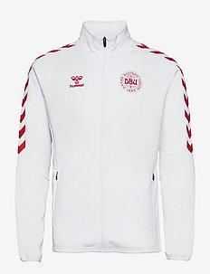 DBU FAN 2020 ZIP JACKET - basic sweatshirts - white