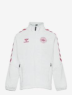 DBU FAN 2020 ZIP JACKET KIDS - sweatshirts - white