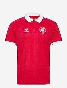 DBU FAN 2020 POLO - football shirts - tango red