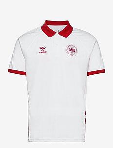 DBU FAN 2020 POLO - football shirts - white