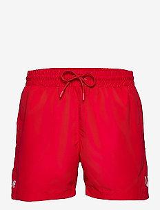 DBU FAN 2020 SWIM SHORTS - shorts - tango red