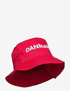 DBU FAN 2020 BUCKET HAT - bøttehatter - tango red