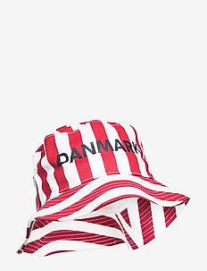 DBU FAN 2020 BUCKET HAT - bucket hats - tango red/white