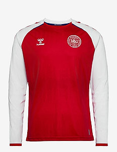 DBU 20/21 HOME JERSEY L/S - longsleeved tops - tango red